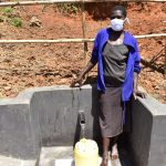 The Water Project: Maraba Community, Shisia Spring -  Doreen Akhaoya Shisia Masked Up