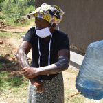 The Water Project: Maraba Community, Shisia Spring -  Handwashing Session