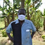 The Water Project: Maraba Community, Shisia Spring -  Samuel Weremba Masked Up