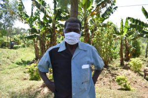 The Water Project:  Samuel Weremba Masked Up