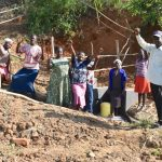 The Water Project: Maraba Community, Shisia Spring -  Community Celebrating Their Efforts