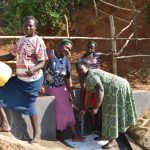 The Water Project: Maraba Community, Shisia Spring -  Thumbs Up For Clean Water