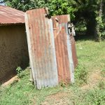 The Water Project: Emusaka Community, Manasses Spring -  Bath Shelter