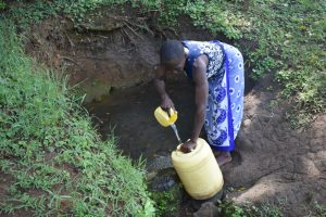 The Water Project:  Water Users Collecting Water