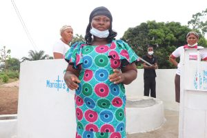 The Water Project:  Councilor Mabinty Tholley Makes A Speech