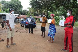 The Water Project:  Disease Transmission Exercise