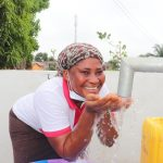 The Water Project: Lungi, New London, Saint Dominic's Catholic Church -  Drinking From The Well