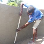 The Water Project: Lungi, New London, Saint Dominic's Catholic Church -  Pad Construction