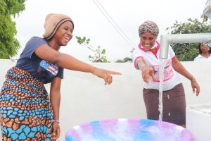 The Water Project:  Pointing At The Well