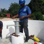 The Water Project: Lungi, New London, Saint Dominic's Catholic Church -  Pump Installation