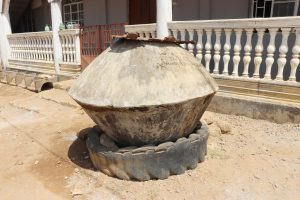 The Water Project:  Water Storage At Mosque