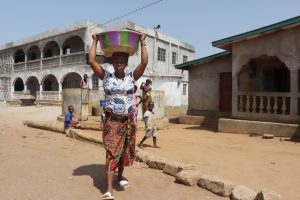 The Water Project:  Woman Carrying Water