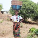 The Water Project: Lungi, Yongoroo, #7 Kamara Taylor Street -  Woman Selling Fish