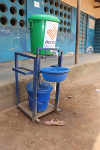 The Water Project:  Handwashing Station At School
