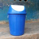 The Water Project: Masoila Gateway Baptist Church and Primary School -  Trash Bin