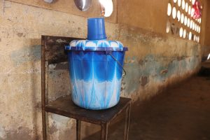 The Water Project:  Water Storage At Classroom