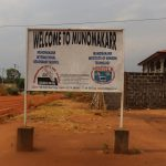 The Water Project: Munamakarr Secondary School -  School Sign