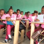 The Water Project: Munamakarr Secondary School -  Students Inside Classroom