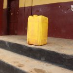 The Water Project: Munamakarr Secondary School -  Water Storage Container