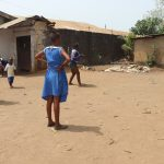 The Water Project: Masoila Gateway Baptist Church and Primary School -  Students Outside Classroom