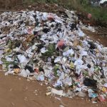 The Water Project: Kulafai Rashideen Primary School -  Garbage Pile In School Compound