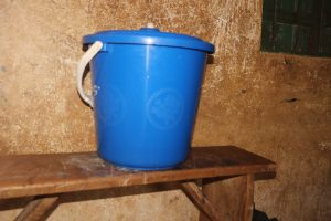 The Water Project:  Water Storage Container At School