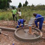 The Water Project: Ejinga Taosati Community -  Cement Work