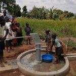 The Water Project: Ejinga Taosati Community -  Children Celebrate The Well
