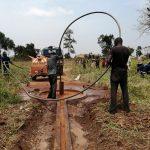 The Water Project: Ejinga Taosati Community -  Flushing