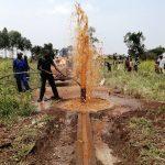 The Water Project: Ejinga Taosati Community -  Flushing The Well