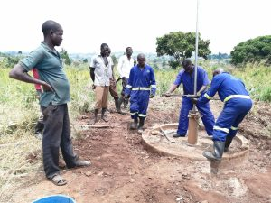 The Water Project:  Installing New Components For Well