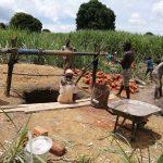 The Water Project: Rubona Kyawendera Community -  Lining The Well
