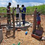 The Water Project: Rubona Kyawendera Community -  Pump Installation