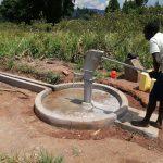The Water Project: Ejinga Taosati Community -  Pumping The Well