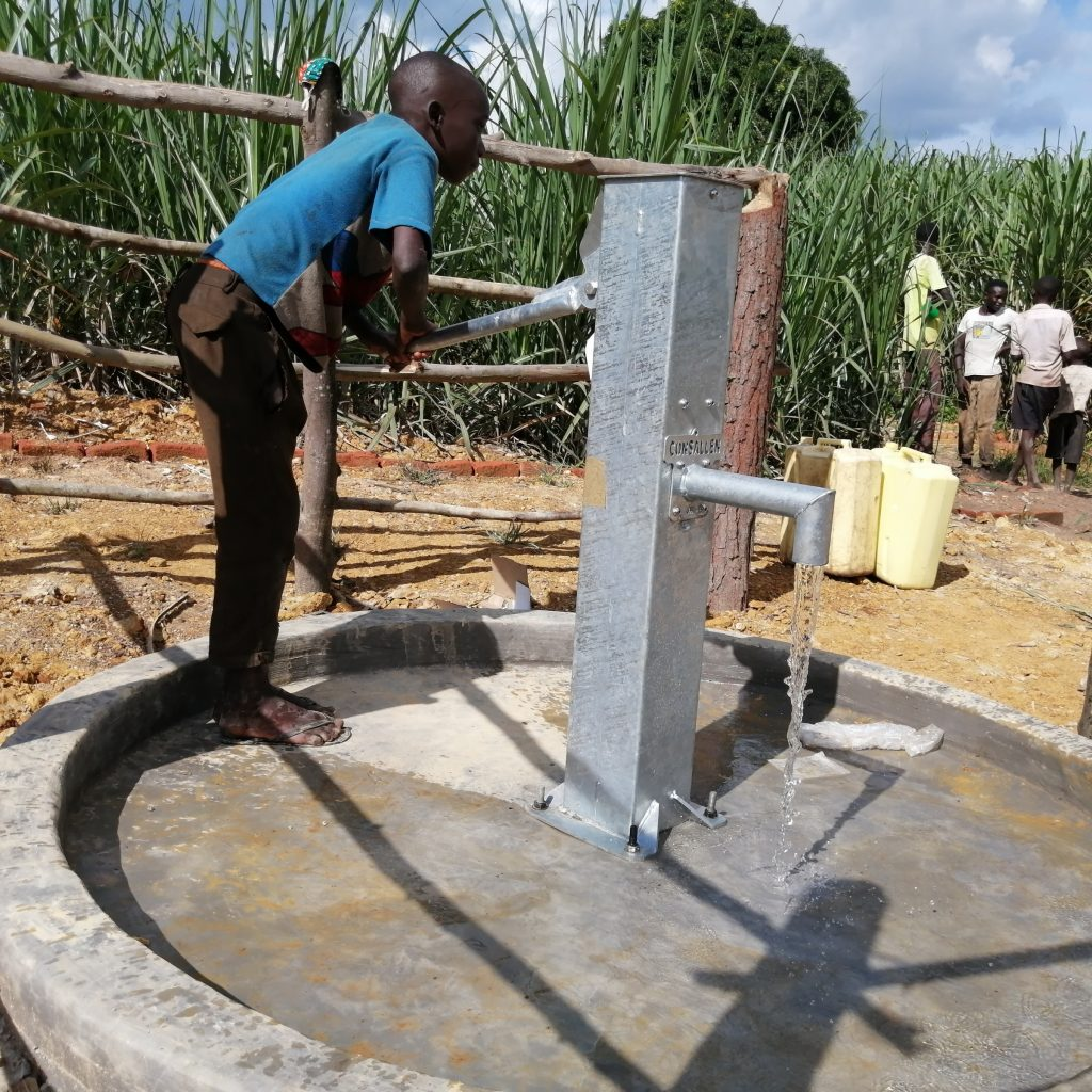 The Water Project : uganda20505-water-flowing-2