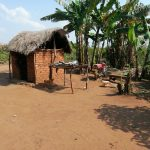 The Water Project: Byerima Kyakabasarah Community -  Kitchen And Dish Rack