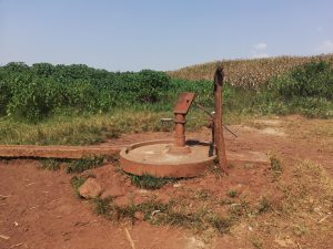 The Water Project:  Nonfunctional Well In Need Of Rehab