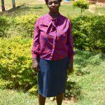 The Water Project: Friends Mixed Secondary School Lwombei -  Teacher Beatrice Rono