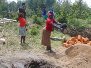 The Water Project:  Delivering Materials By Hand