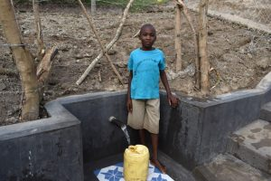 The Water Project:  Stephen At The Spring