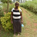 The Water Project: Shihome Community, Oloo Njinuli Spring -  Rose Sikomera