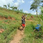 The Water Project: Shihome Community, Oloo Njinuli Spring -  Delivering The Bricks