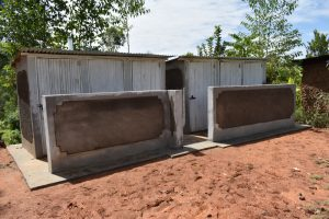 The Water Project:  Complete Vip Latrine Blocks
