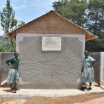 The Water Project: Friends Musiri Primary School -  Posing At The New Latrines