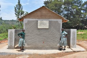 The Water Project:  Posing At The New Latrines