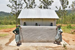 The Water Project:  Posing At Their New Latrines