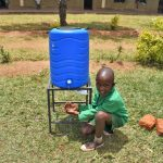 The Water Project: Friends Musiri Primary School -  Using A New Handwashing Station