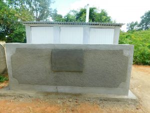 The Water Project:  Complete Latrine Block