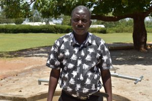 The Water Project:  Headteacher Augustine Oduor