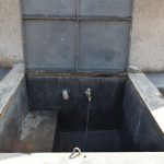 The Water Project: Jimarani Primary School -  Water Flowing From The Rain Tank